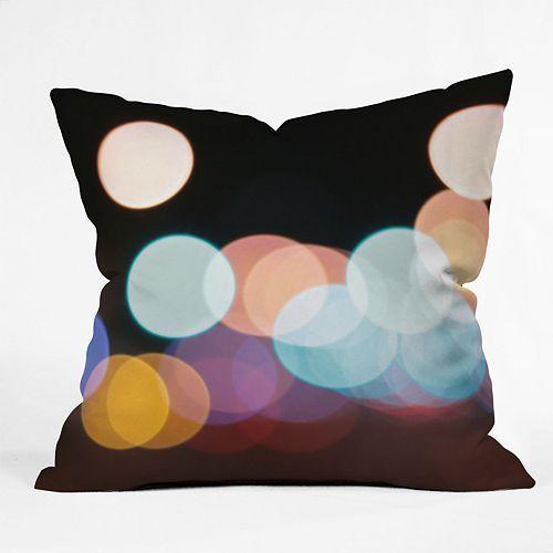 DENY Designs Leonidas Oxby Friday Night Lights Decorative Pillow - 20'' x 20''