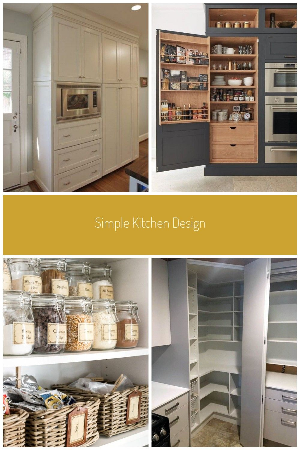Kitchen Pantry With Microwave Storage 68 Ideas For 2019 In 2020 Speisekammer