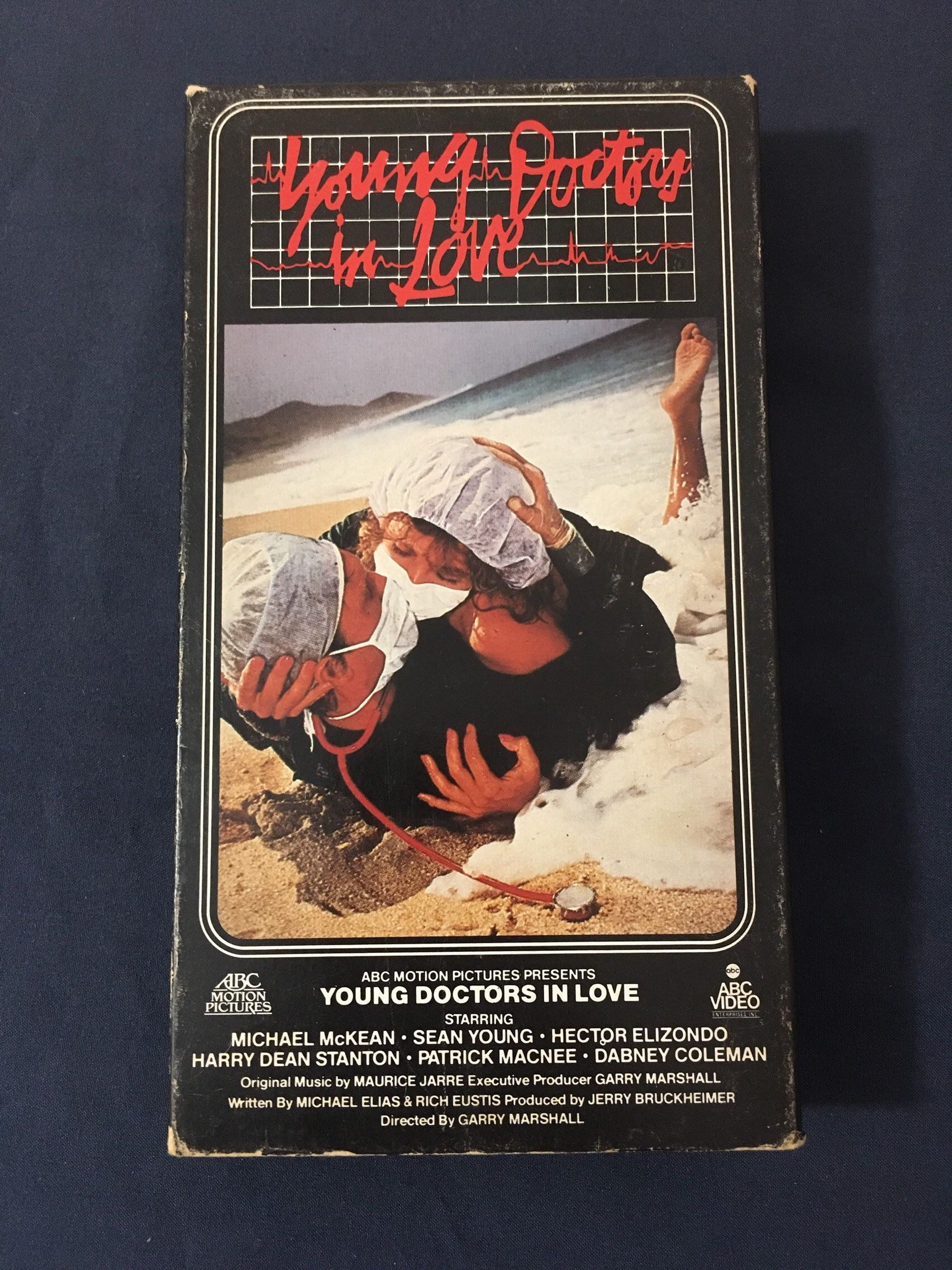 Vintage Young Doctors In Love VHS Movie 1991 Release