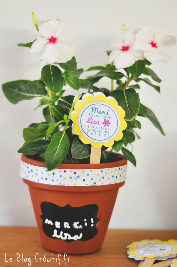 Professeur pot de fleur personnalisé de pot de fleur Merci Cadeau Professeur Cadeau