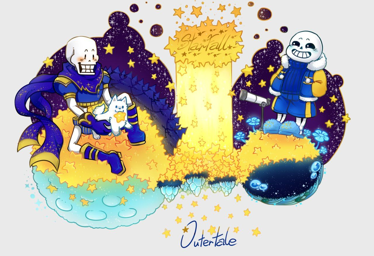 Sans and Papyrus Outertale