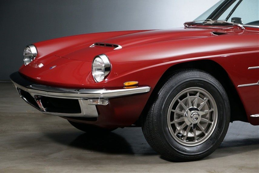 1968 Maserati Mistral - Frua 4000 Coupe   Classic Driver ...