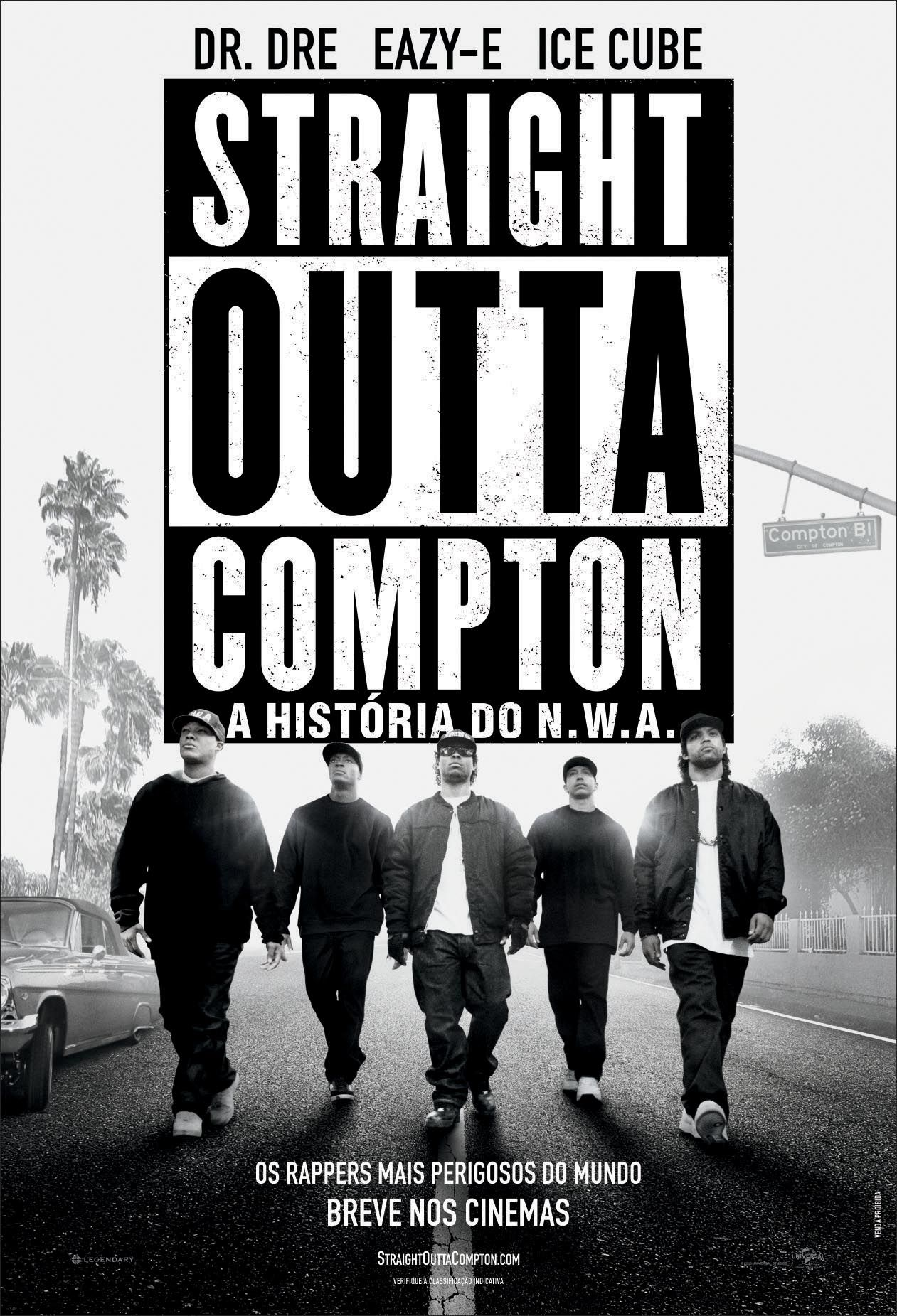 Cartaz Oficial #StraightOuttaCompton | Hip hop | Pinterest ...