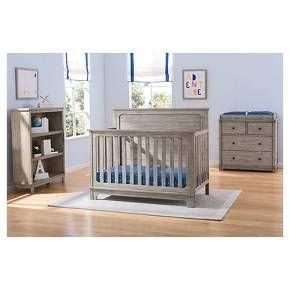 Equal Parts Rustic And Clic The Monterey 4 Drawer Dresser With Changing Top From Simmons Kids Slumbertime Will Be A Standout In Any Nursery Or