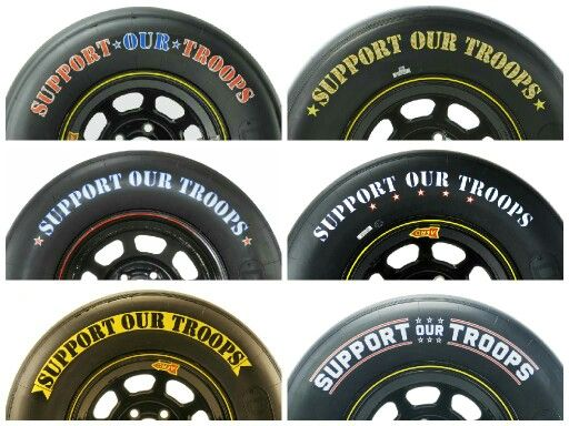 Nascar Has Ran The Support The Troops Tires For The Memorial Day Weekend Race Charlotte For The Past 6 Years Nascar Racing Nascar Racing