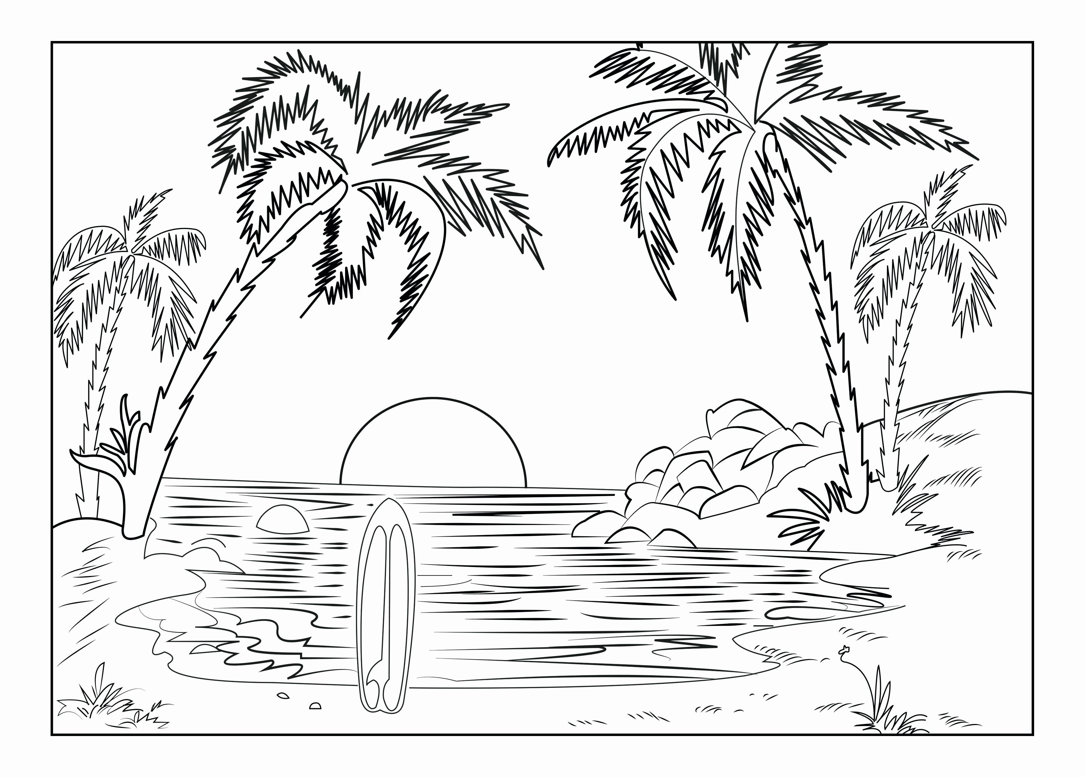 Coloring Pages Nature Scenes Beautiful Coloring Pages Nature
