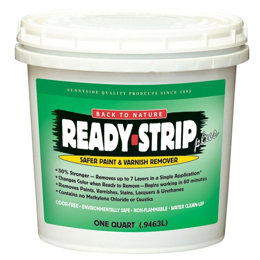 Ready Strip 1 Qt Safer Paint And Varnish Remover Environmentally Friendly 6 Pack Paint Remover Varnish Remover Stripping Paint