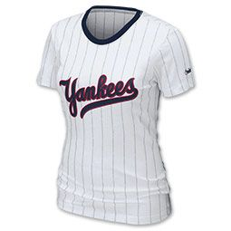 The Women S Mlb Nike Pinstripe Tee Shirt Is So Cute You Might Want