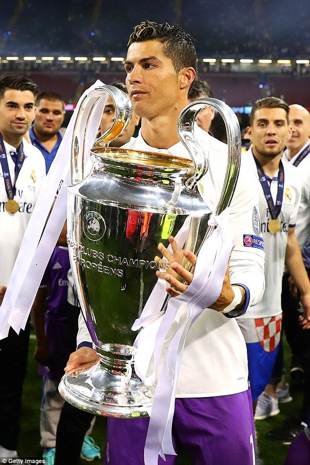 Ronaldo Wins The Trophy For Fourth Time As Real Madrid Beat Juventus In Last Years