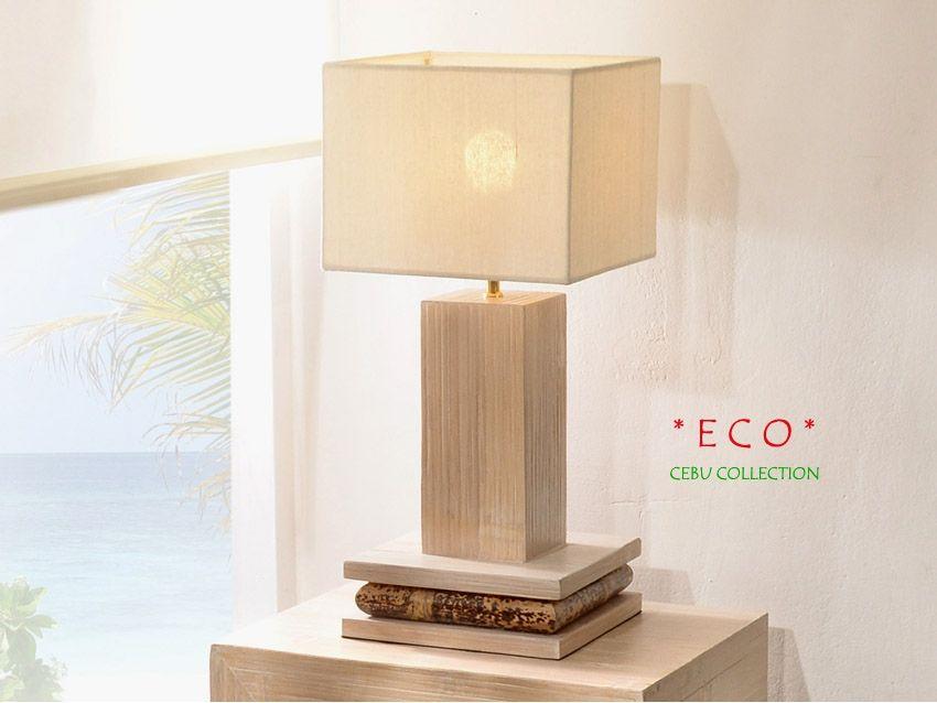 Eco Tischlampe Beistelllampe Cebu Collection Mit Bildern