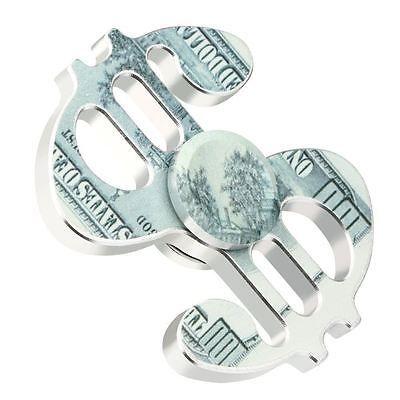 Fidget Spinner Dollar Sign Platinum