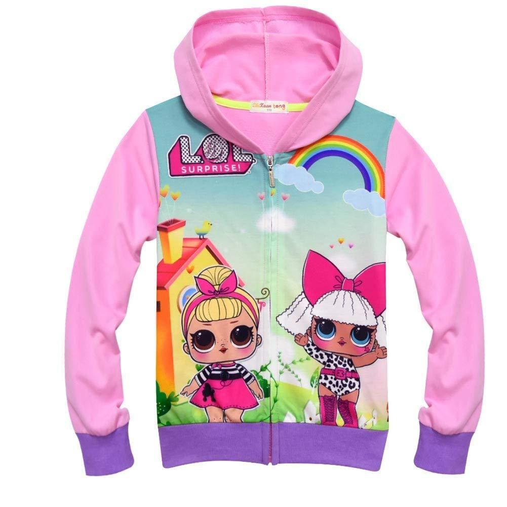 4ca96ee69 Girls Zip Hoodie LOL Doll Surprise | LOL SURPRISE CLOTHING, SHOES ...