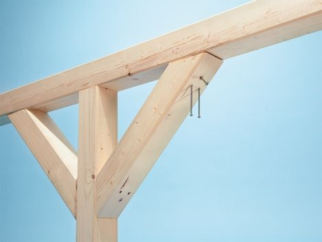 Spax Schrauben Im Test Dachstuhl Bauen Pavillon Selber Bauen Carport Selber Bauen