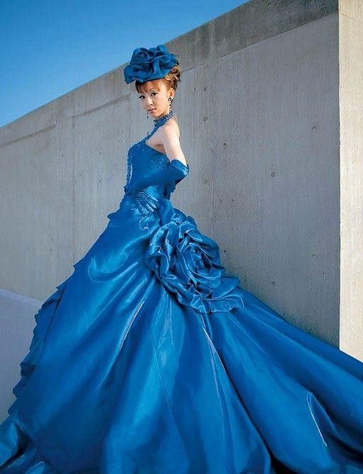 Western-Wedding-Dresses-Design-with-Beauty-Colorful-Elegant-Scena ...