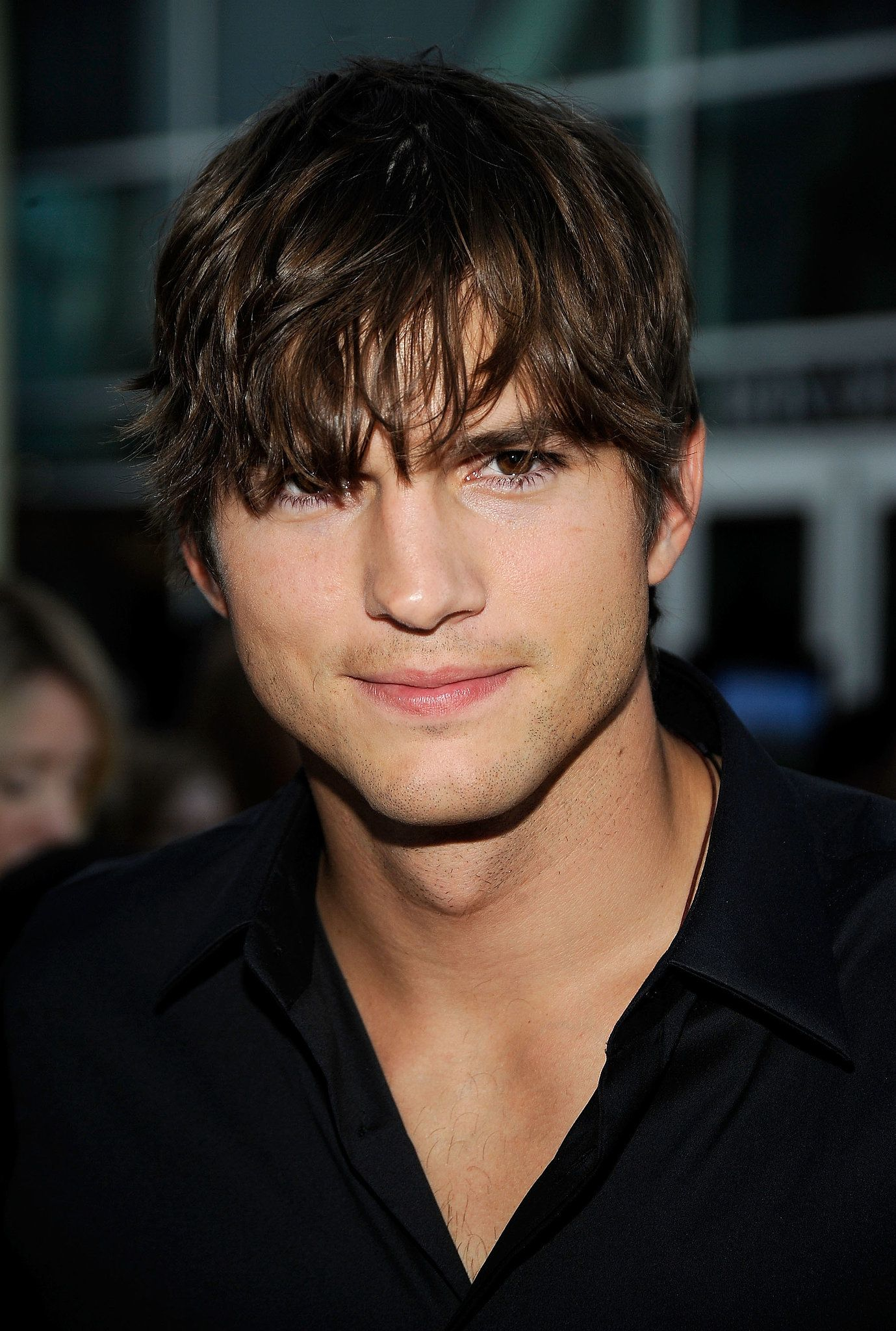 Long hair, short hair — everything worked. | Ashton ... Ashton Kutcher