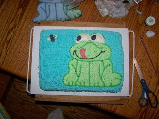 A Cakier Side of Me: Frog Cake