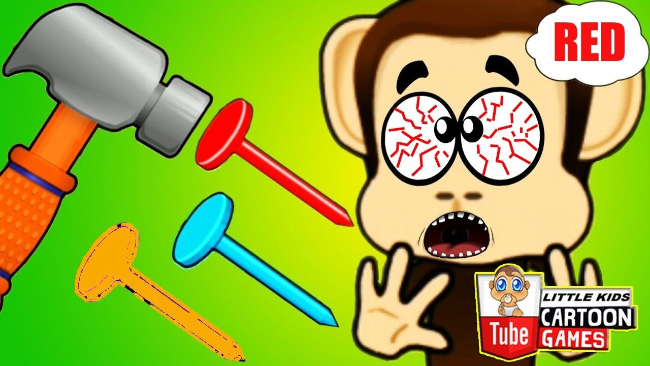 Fun Care Monkey Preschool. Fun Colorful Kids Games . Baby Learn ...