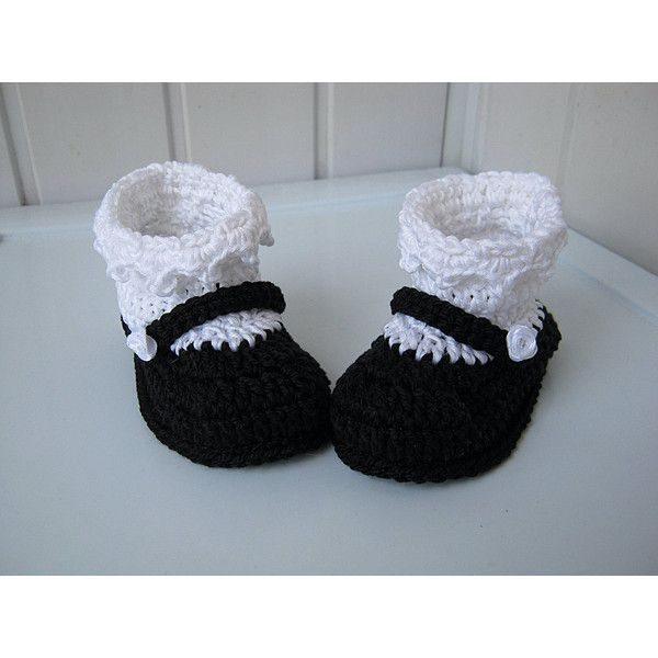 Booties, Booties crocheted, Shoes for the home, Knitted footwear,... ($12) ❤ liked on Polyvore featuring booties and booties crocheted
