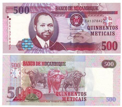 Metical es la moneda oficial de Mozambique Meticais de Mozambique