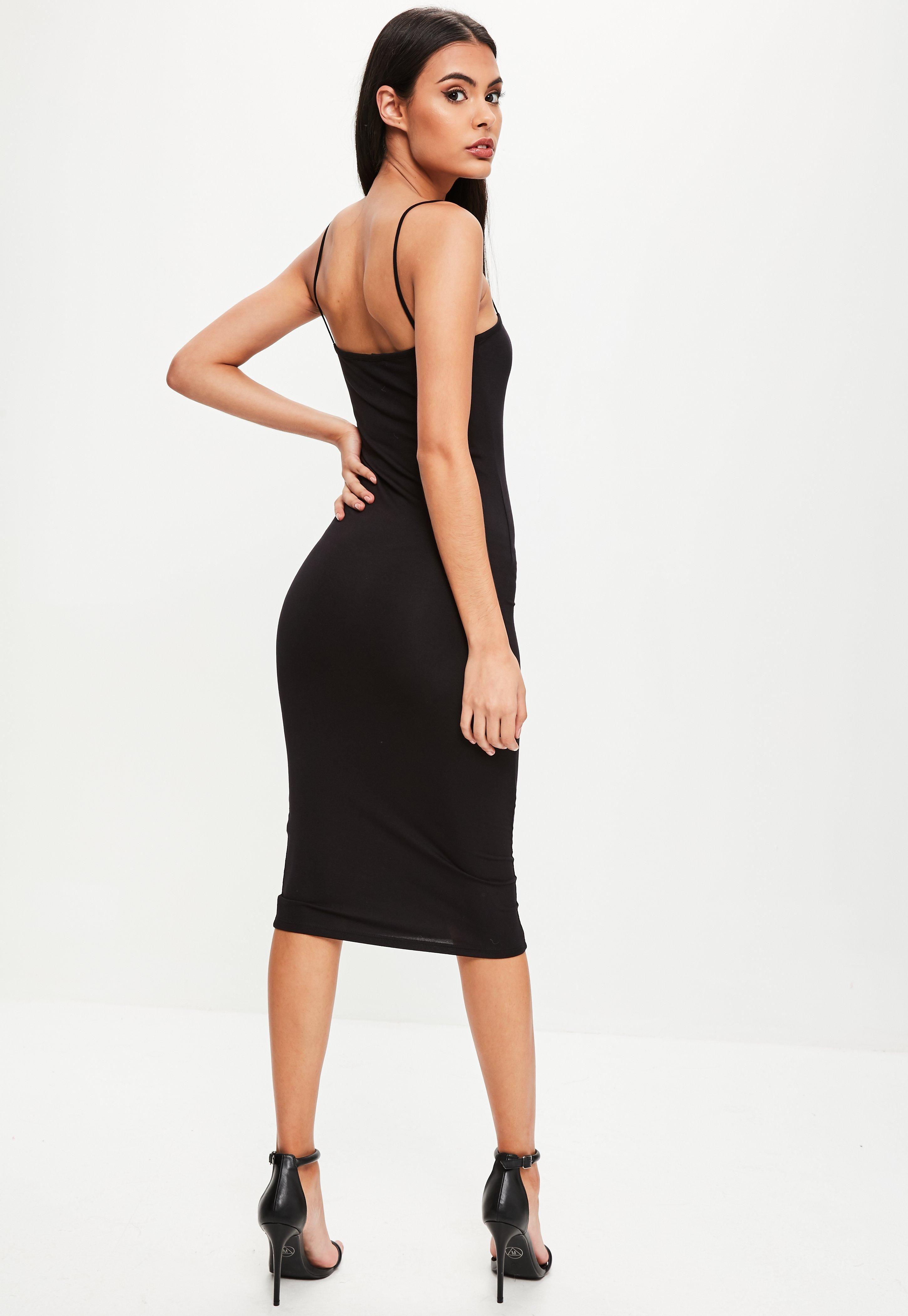 Asos Design Asos Design Cowl Neck Cami Midi Prom Dress Black Asosdesign Cloth Midi Prom Dress Black Prom Dresses Prom Dress Trends [ 1110 x 870 Pixel ]