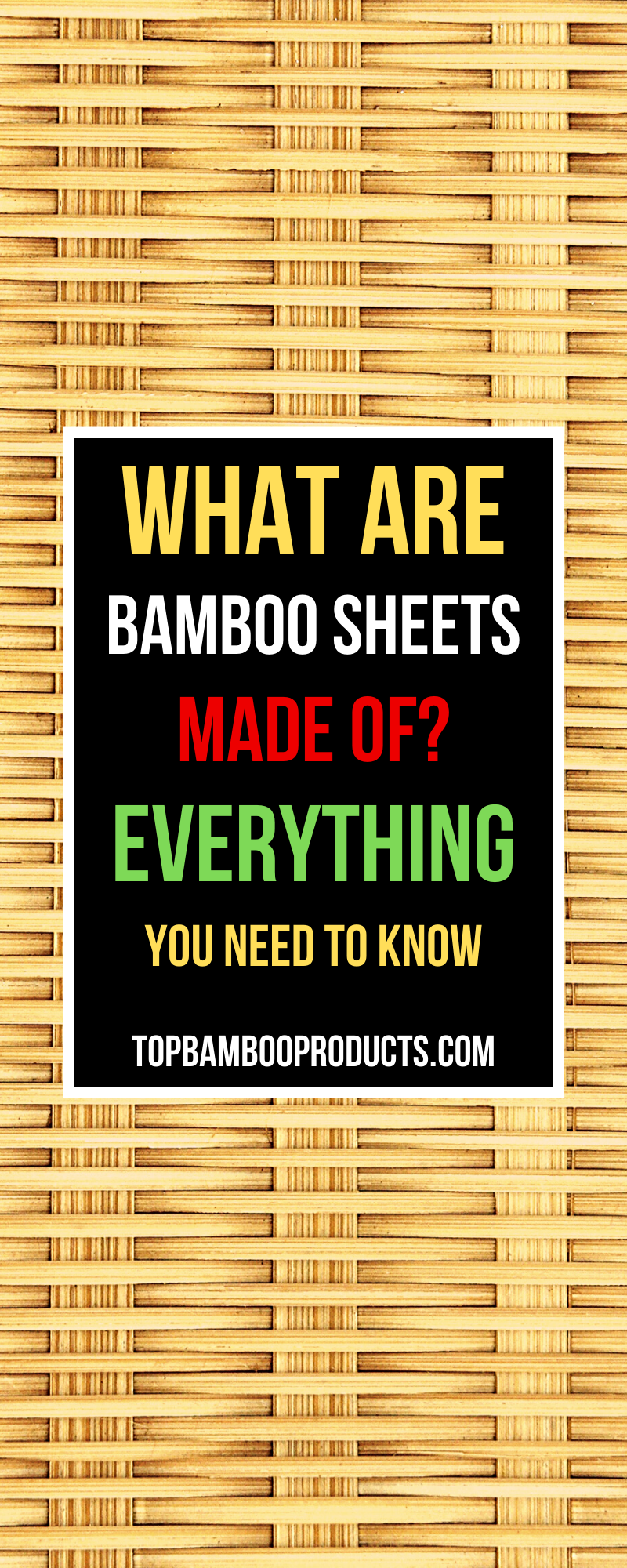 What Are Bamboo Sheets Made Of Everything You Need To Know In