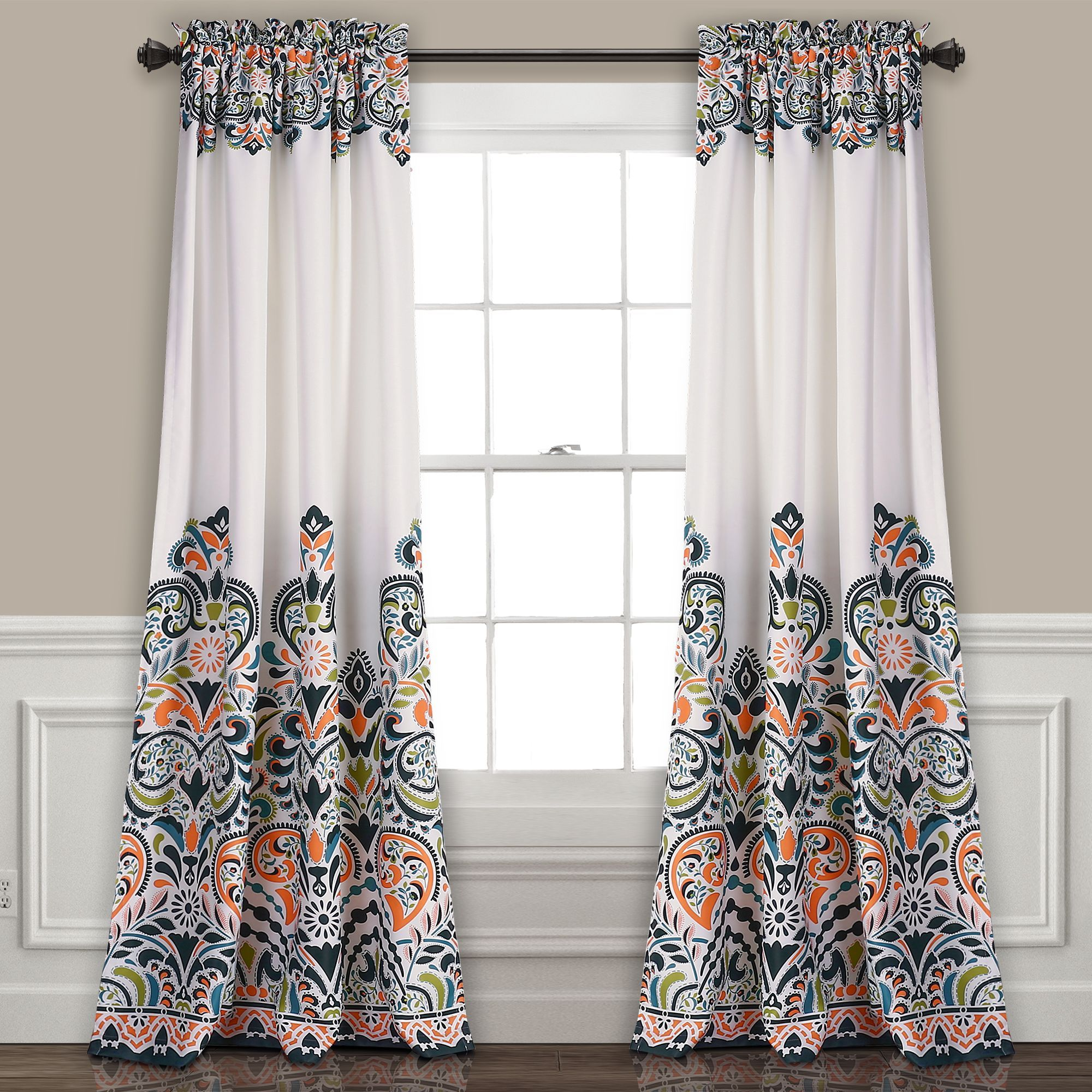 Clara Room Darkening Window Panel Set Panel Curtains Room