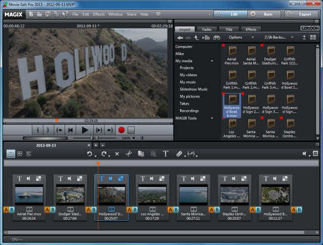 Magix Movie Edit Pro Review What S New And Overview Video Editing Software Slideshow Music Movies