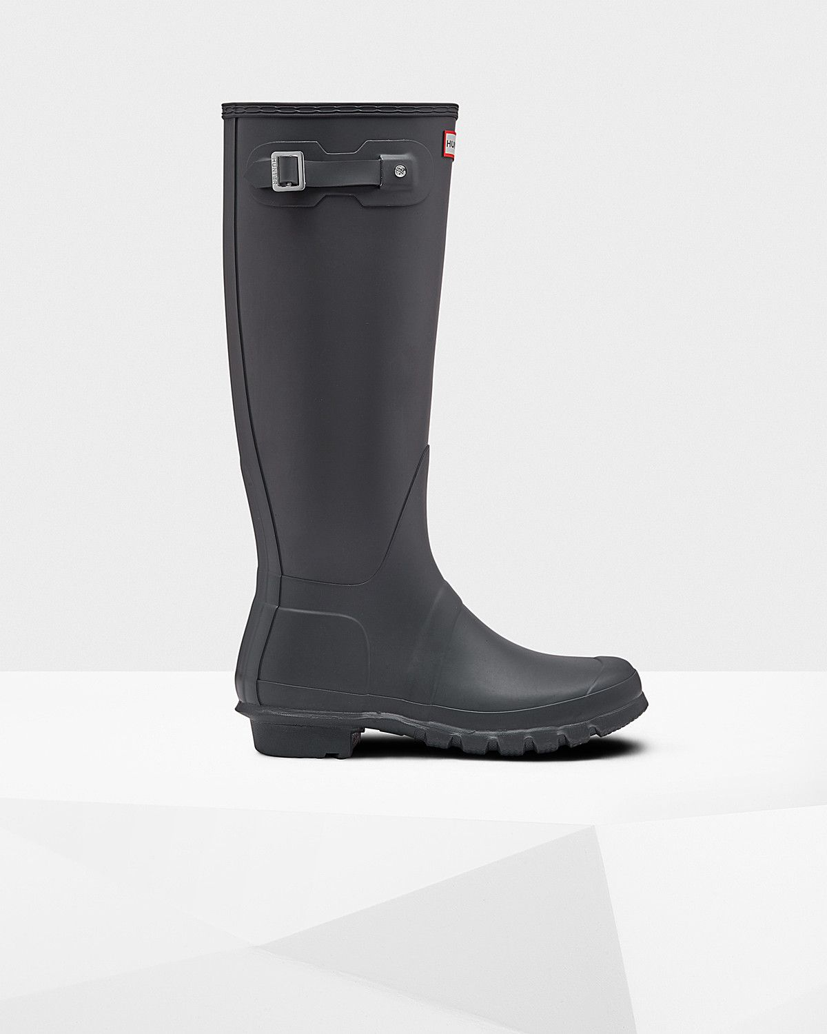 Womens Grey Tall Rain Boots | Official US Hunter Boots Store ...
