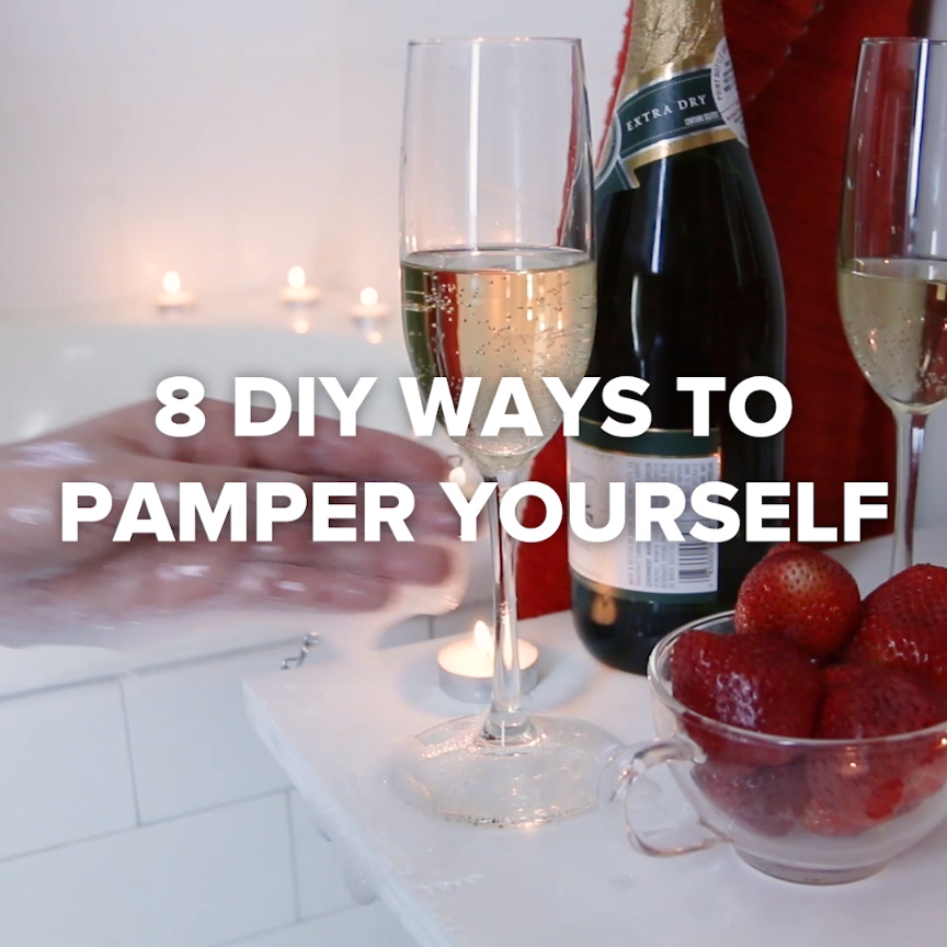 8 DIY Ways to Pamper Yourself