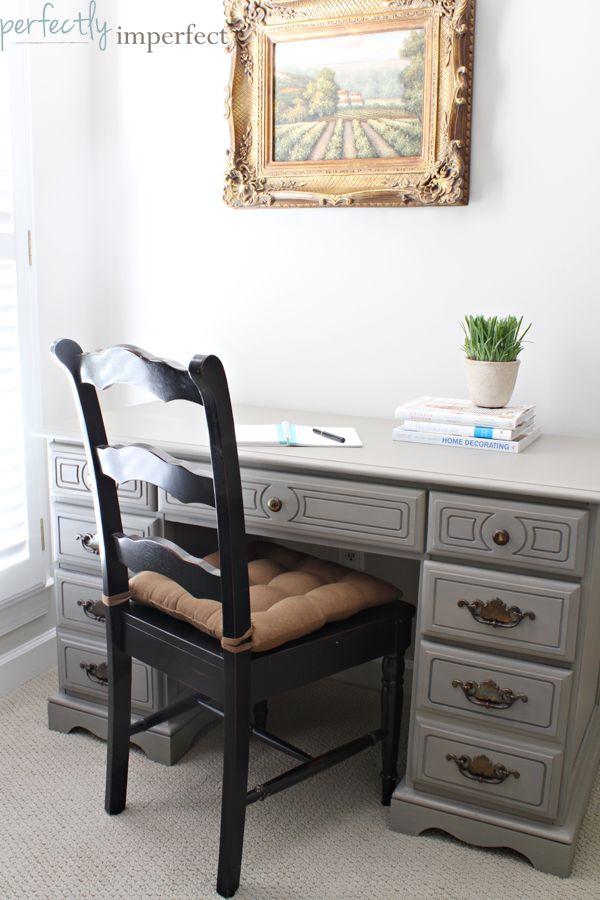 1000 images about painted desk on pinterest painted desks desks and milk paint chalk paint colors furniture ideas