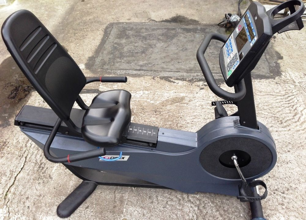 Cybex 700r Recumbent Bike Commercial Home Fitness Gym Exercise Cycling London Cycling Workout Cycling In London Bike