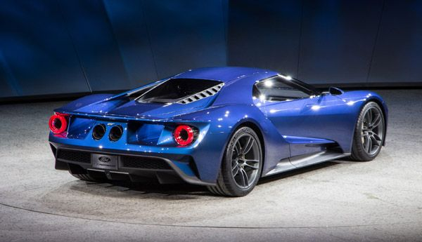 Ford Gt Concept Back