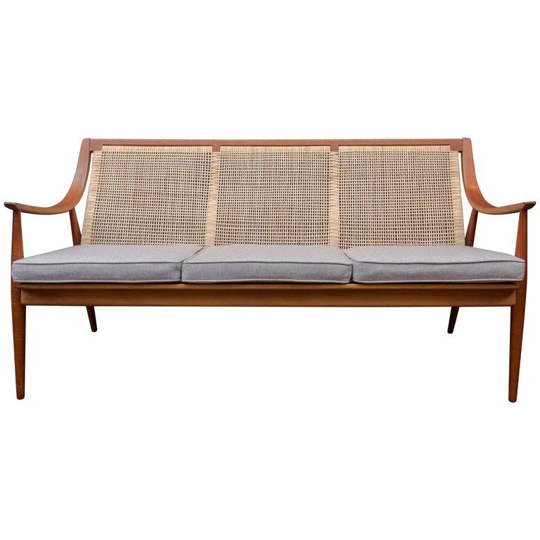 For Sale On 1stdibs Beautiful Danish Teak Sofa Designed