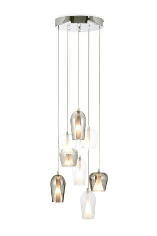 Buy Cooper 8 Light Cluster Pendant online today at Next  Rep  of IrelandCooper 8 Light Cluster Pendant Next   alternative to bedside  . Glass Pendant Lighting Ireland. Home Design Ideas