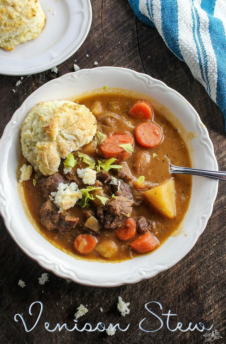 When Your Hubby Hands You Deer Meat Make Venison Stew I Am Proud Of This Recipe The Meal The Animal And The Venison Recipes Deer Meat Recipes Venison Stew