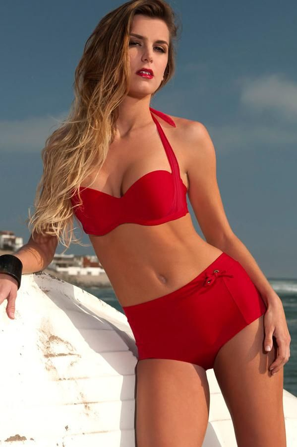 164d0bc1ec8 Orchid Label Swimwear  Rapture Red Pin-Up  Two Piece Swimsuit by Orchid  Label 2012