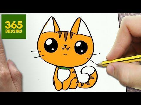 Comment dessiner chaussures de tennis kawaii tape par - Dessin de chat kawaii ...