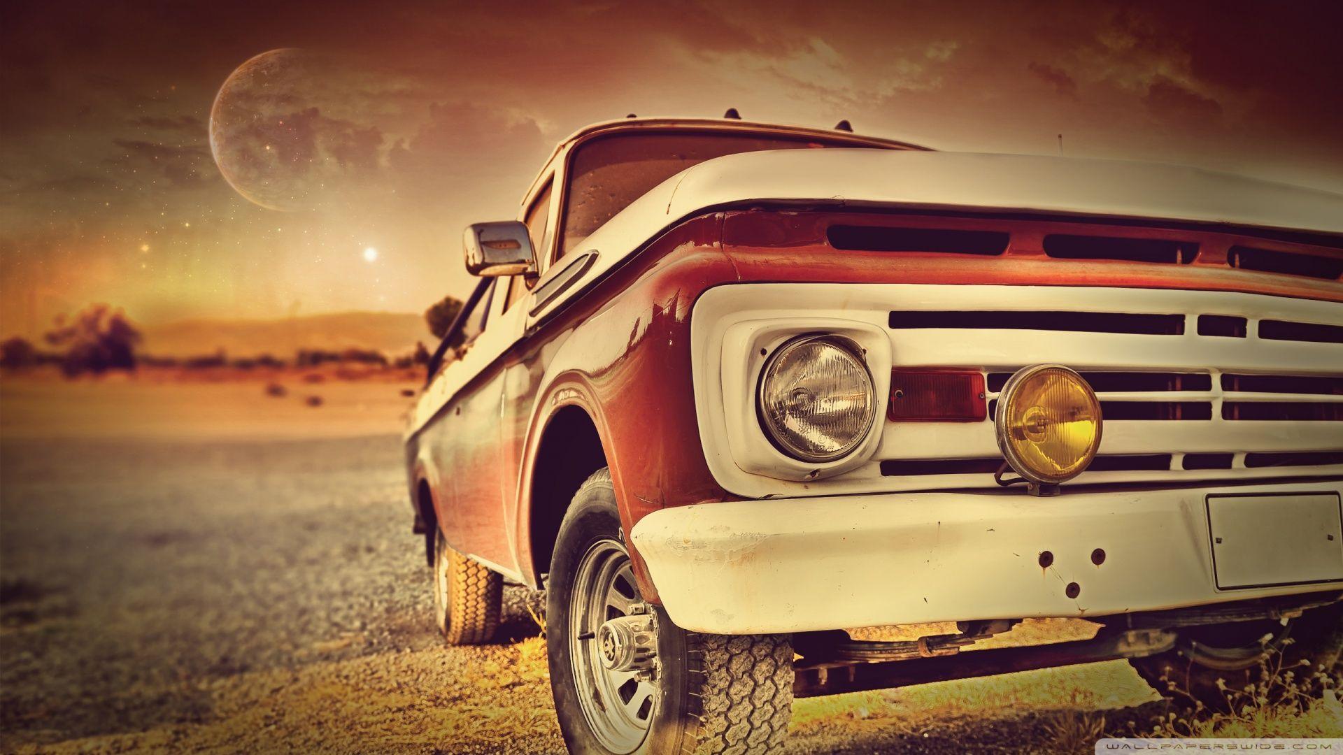 Car, Classic, Next Lake, Beauty, Photo Vintage, Hd Wallpaper