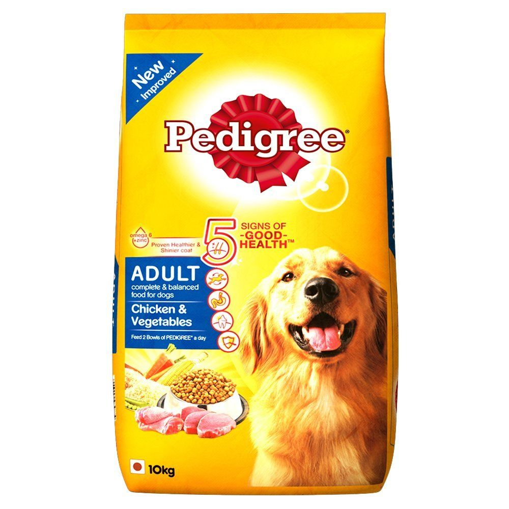 Pedigree Adult Dog Food Chicken Vegetables 10 Kg Pack Online