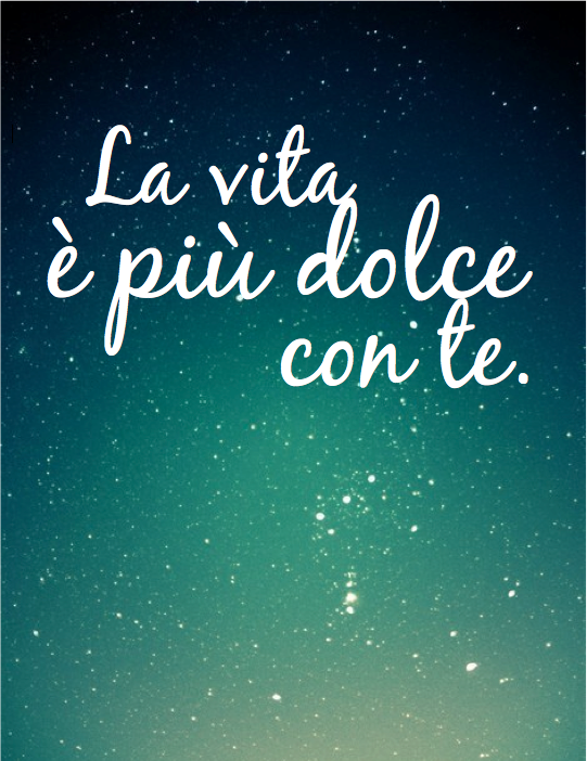 Italian And Sayings Blessings