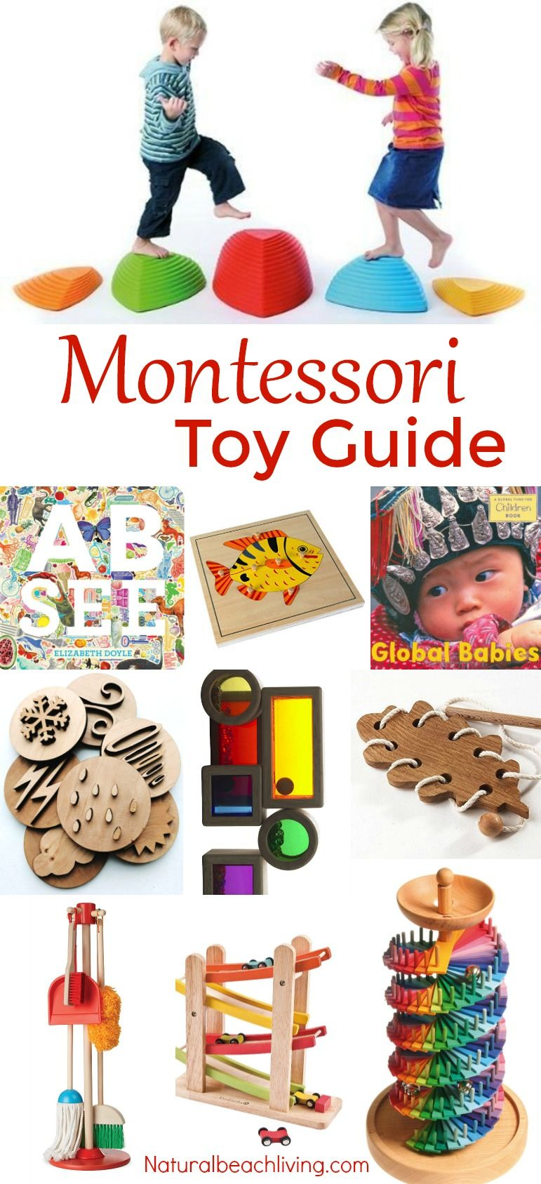 The Best Montessori Toy Guide For 3 6 Year Olds Natural Beach Living Montessori Toys Montessori Activities Toys By Age