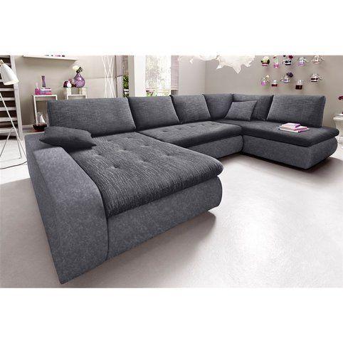 canap convertible panoramique xxl microfibre et tissu aspect tweed m ridienne fixe droite. Black Bedroom Furniture Sets. Home Design Ideas