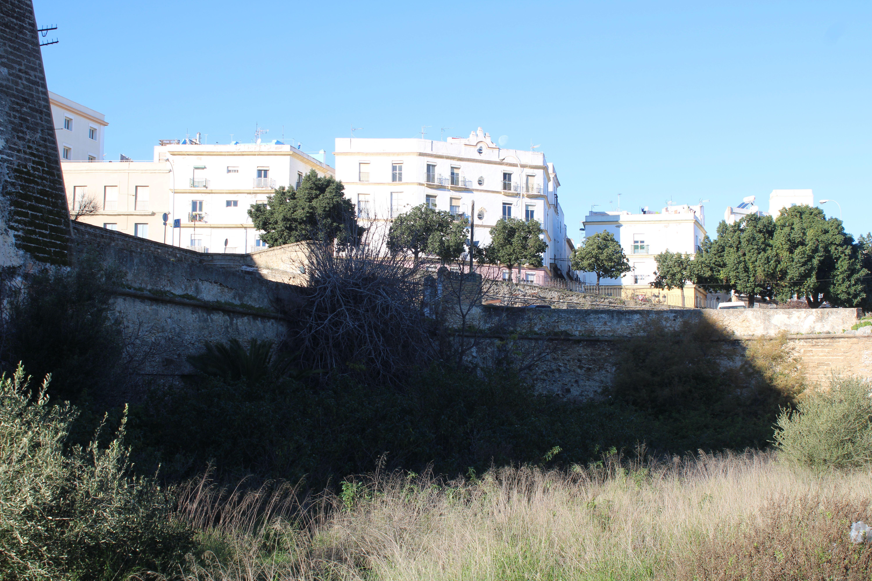 baluarte de Santiago en Cádiz