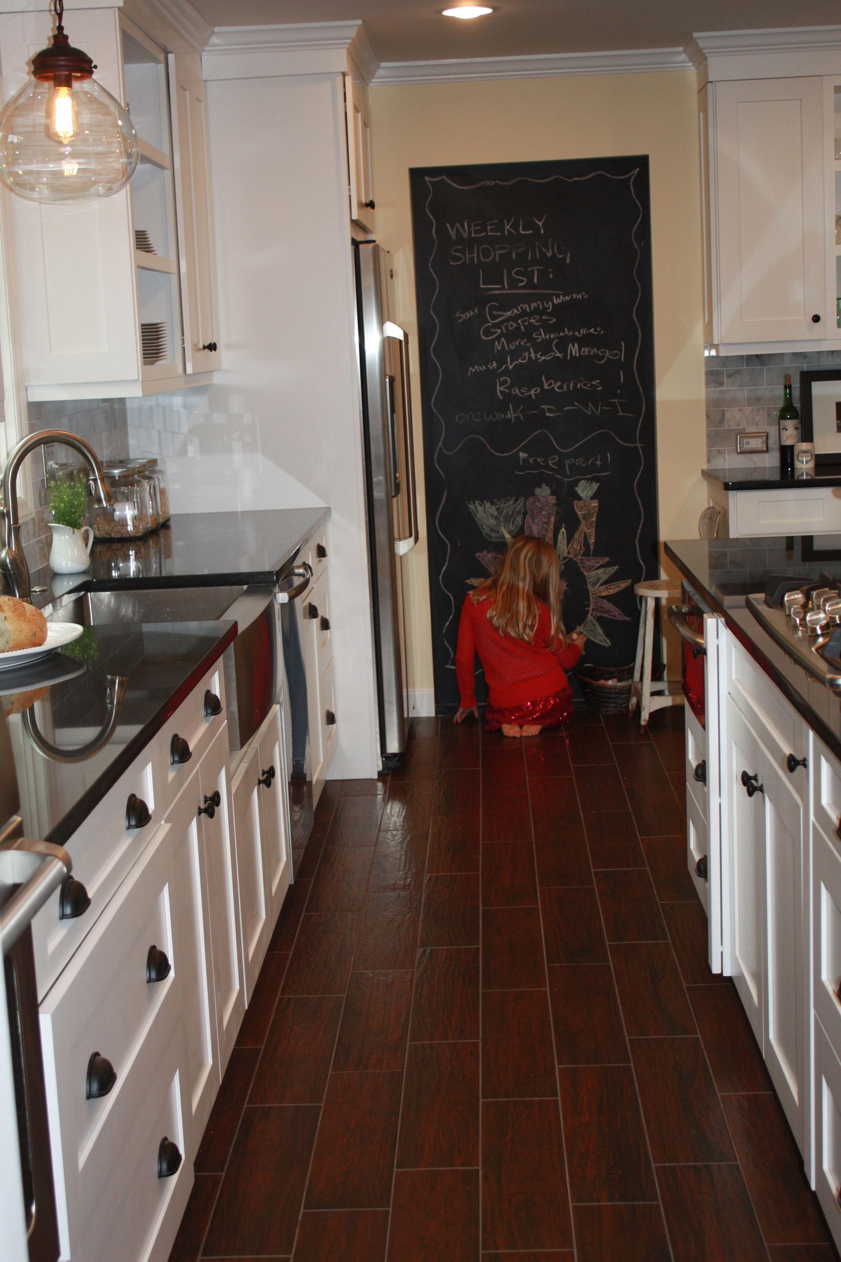 My Kitchen Love The Chalkboard Kitchen Kitchen Cabinets Home Decor
