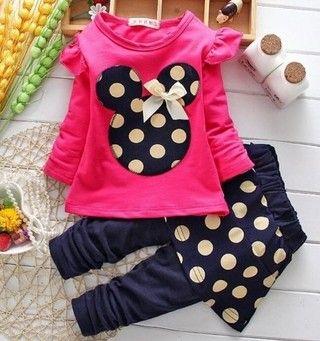 03c563ef30bd82 Conjunto Infantil Minnie New Frete Grátis | Customizadas & costuras ...