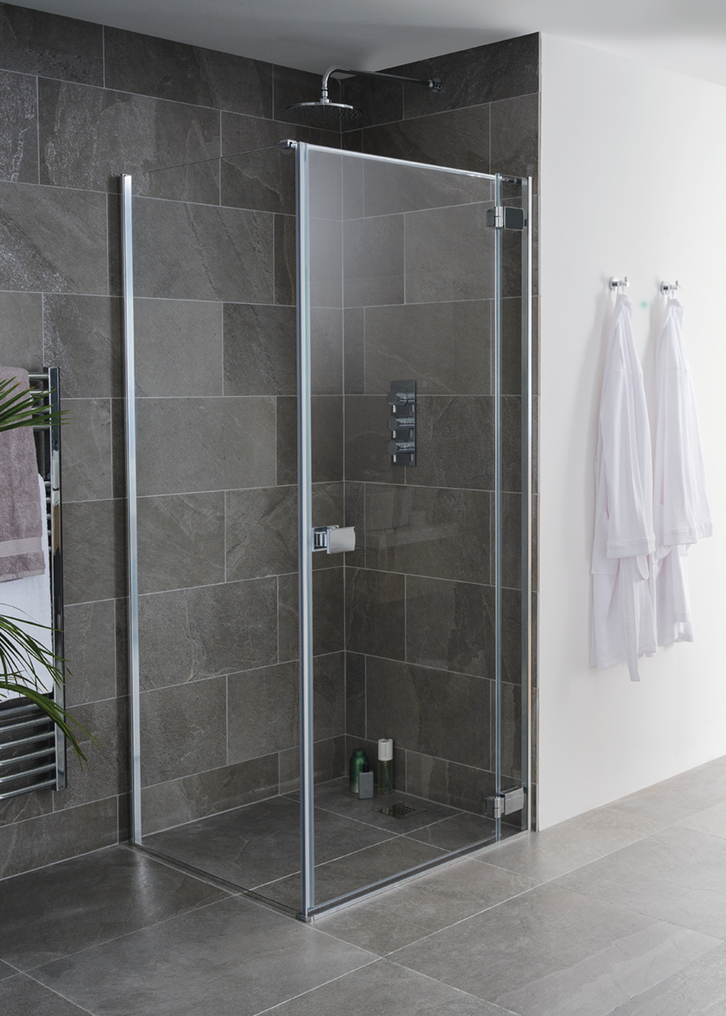 Grenada Frameless Shower Enclosure Doors Island Collection