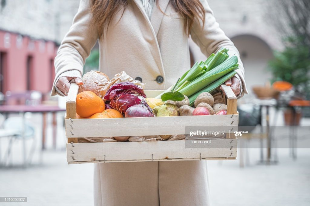Holding A Crate With Fruits And Vegetables Photography #Ad, , #SPONSORED, #Crate, #Holding, #Fruits, #Photography
