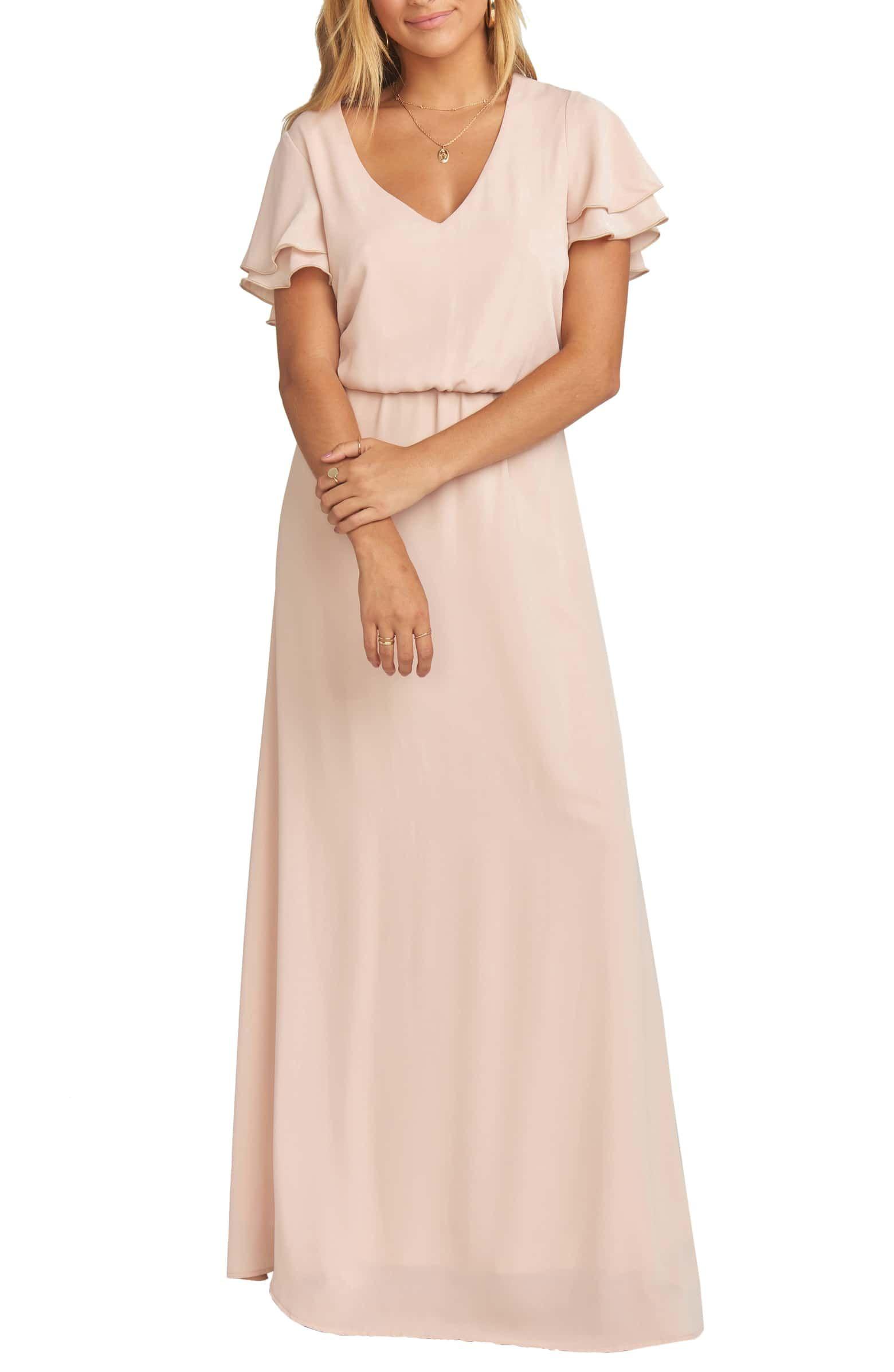ecda61e1e4b4 Michelle Maxi Dress, Main, color, DUSTY BLUSH CRISP | Style { spring ...