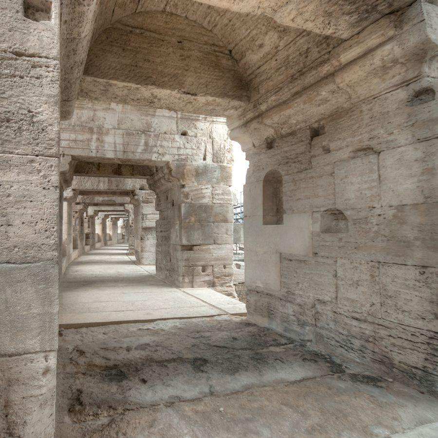 Roman Architecture: Arles. France. Ancient Roman Architecture