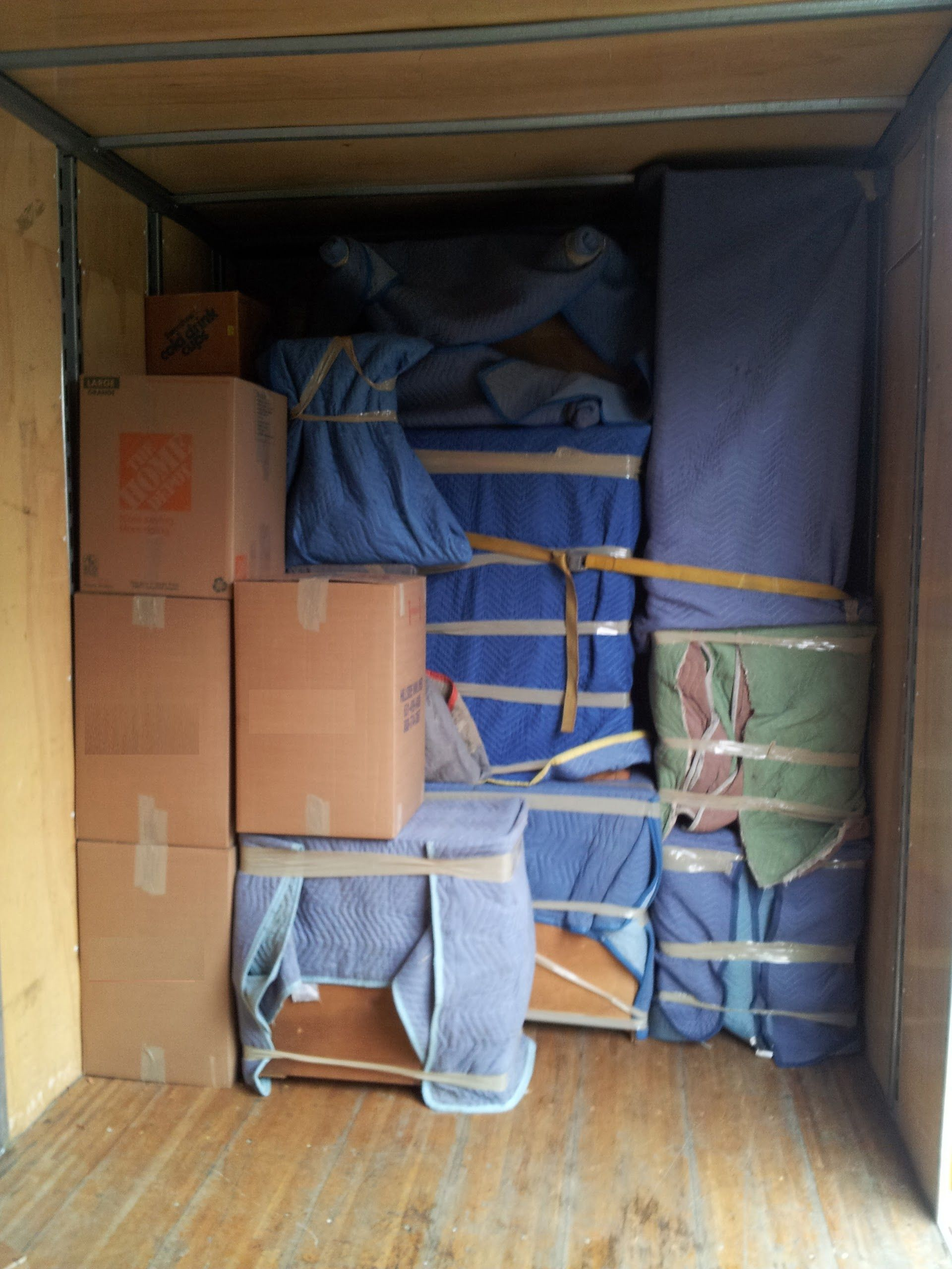 Movers just to load truck